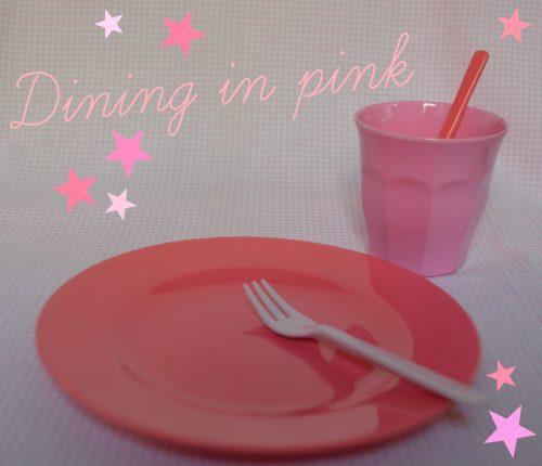 Ricen pinkit astiat on ostettu aikoja sitten Hattaralle Gaudete Kidsistä, mutta Ricea myydään todella monessa paikassa.