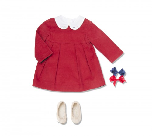 MARIE-CHANTAL - AW15 - BABY CORD DRESS LOOK