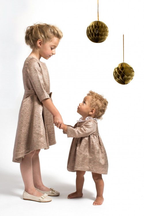 Marie-Chantal - AW15 - short party dress girl & baby