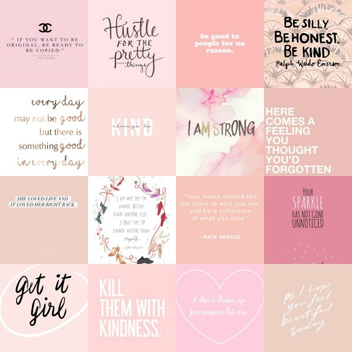 Pinkspiration Collage