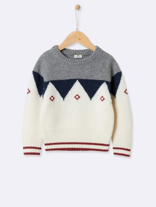 childrens-jacquard-knit-sweater