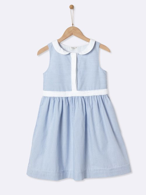 girls-dress-with-peter-pan-collar