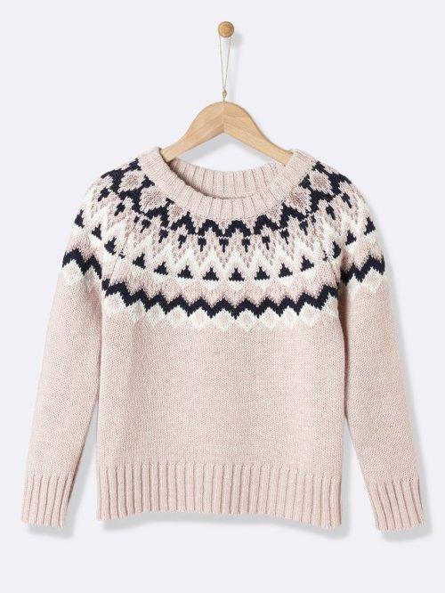 girls-jacquard-sweater